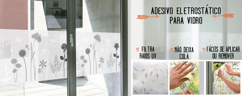 Adesivos remov vel para vidros portas janelas e box for Adesivos p porta de vidro